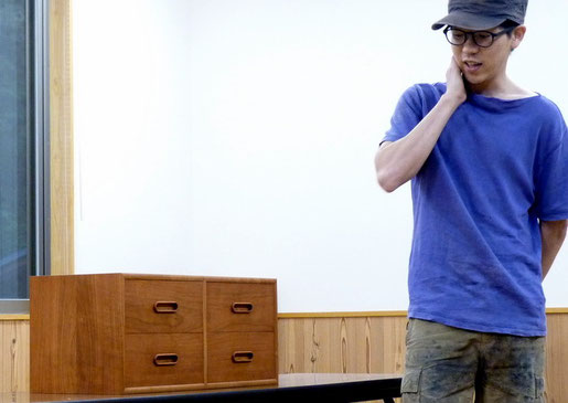 【中級講座】小抽斗の制作