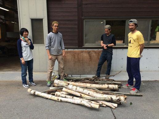 【初級森林実習】森と暮らしをつなげる人になる。その5