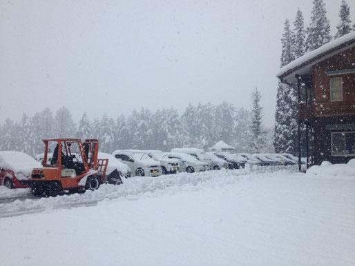 飛騨人の心を育む、雪景色。